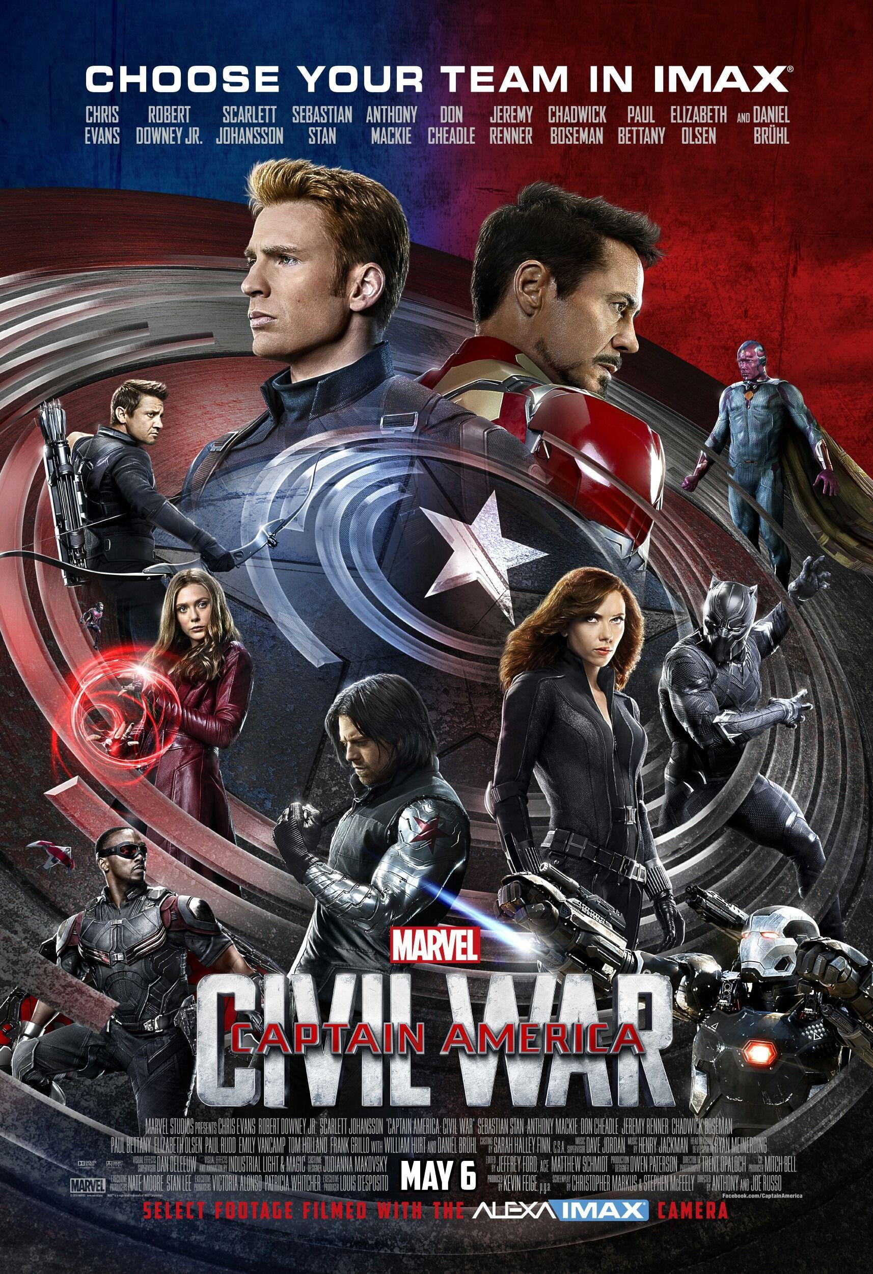Первый Мститель: Противостояние: Бонусы - Captain America- Civil War- Bonuces