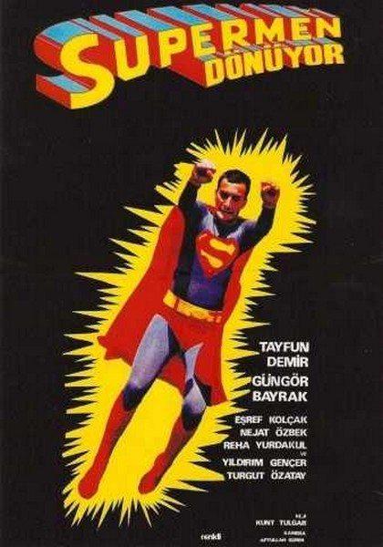 Супермен по турецки - SГјpermen dГ¶nГјyor