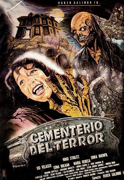 Кошмар на кладбище - Cementerio del terror