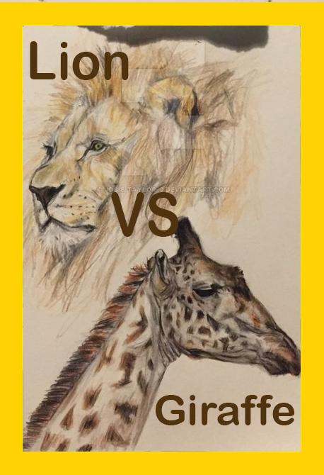 Лев против жирафа - Lion vs. Giraffe