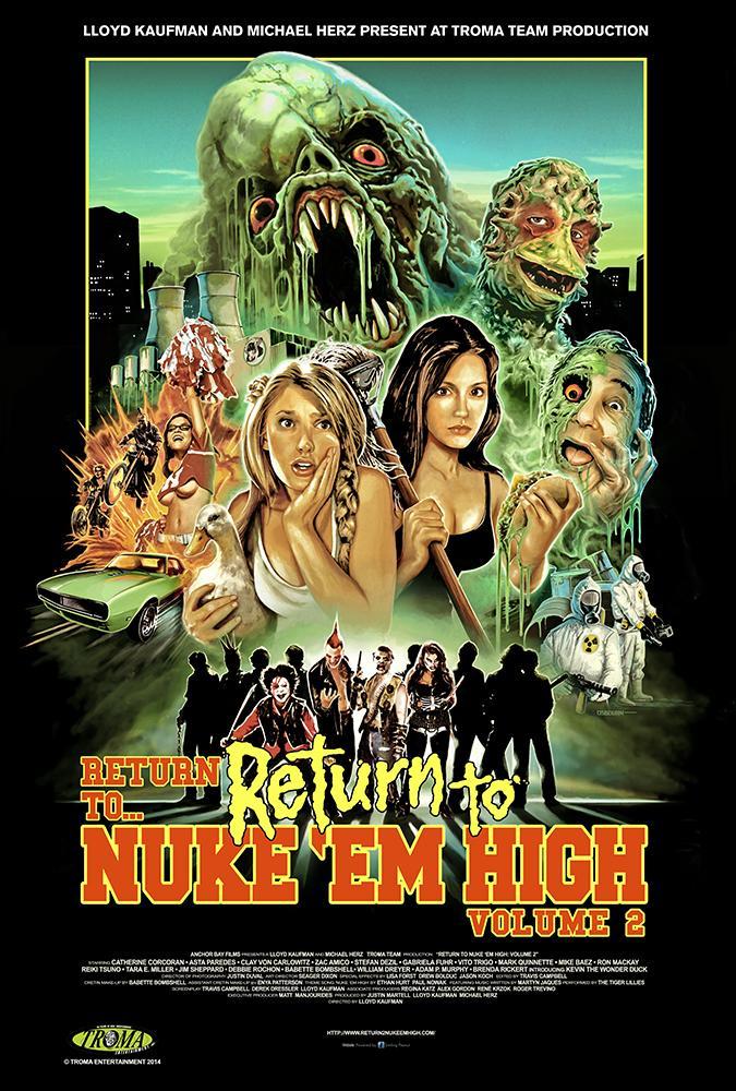 Атомная школа: Возвращение. Часть2 - Return to Return to Nuke °Em High Aka Vol. 2