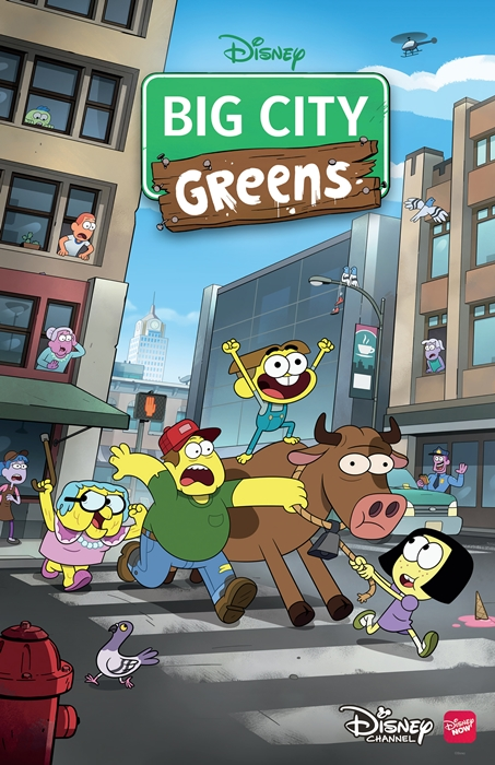 Семейка Грин в городе - Big City Greens