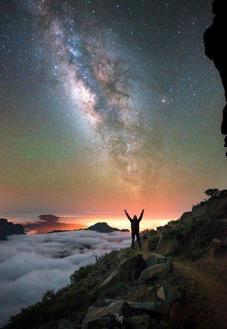 Между небом и землёй - Entre Ciel et Terre