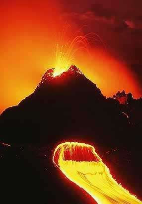 Извержение Килауэа - Kilauea Eruption