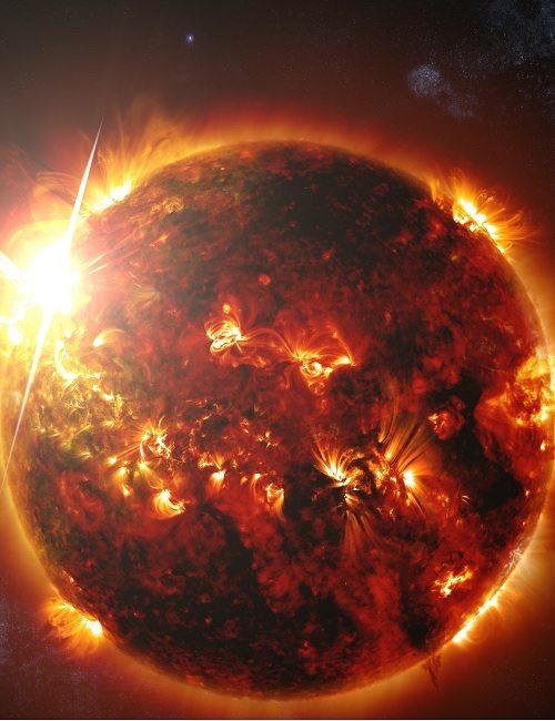 Наше солнце, ядерный синтез в максимальной экспрессии - Nuestro Sol, FusiГіn Nuclear en su MГЎxima ExpresiГіn