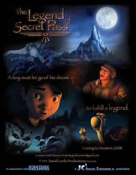 Легенда о тайном проходе - The Legend of Secret Pass