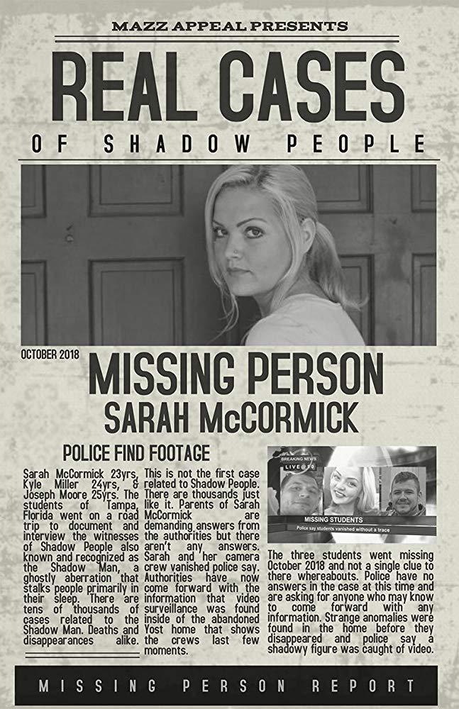 Люди-тени: история исчезновения Сары МакКормик - Real Cases of Shadow People The Sarah McCormick Story