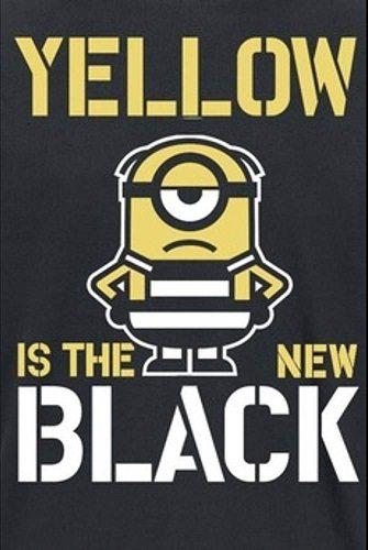Жёлтый - хит сезона - Yellow is the New Black