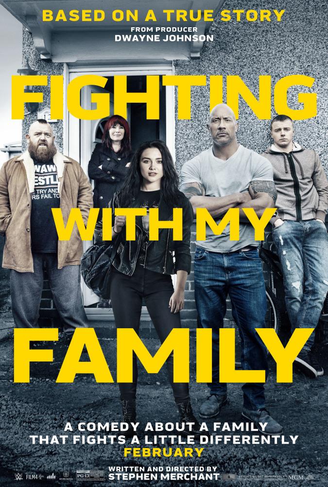 Борьба с моей семьей - Fighting with My Family