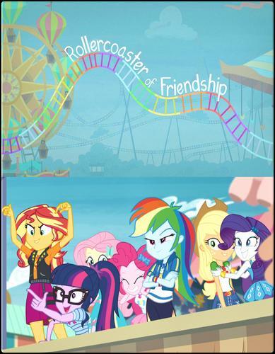 Мой маленький пони: Девочки из Эквестрии - Непредсказуемая дружба - My Little Pony Equestria Girls- Rollercoaster of Friendship