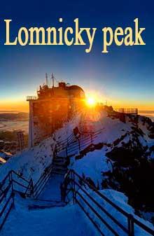 Ломницки-Штит - Lomnicky peak