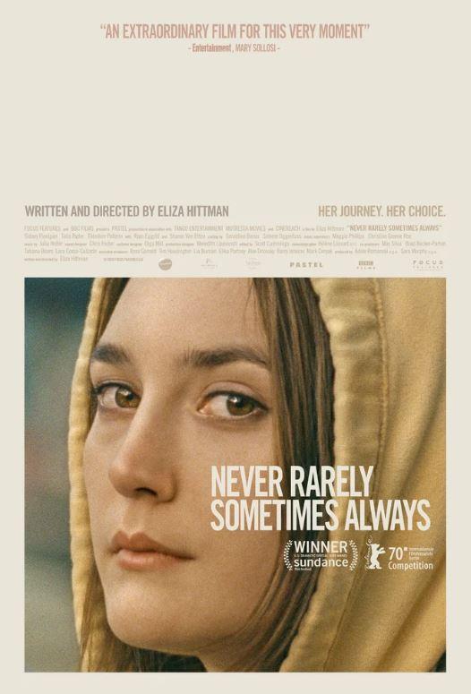Никогда, редко, иногда, всегда - Never Rarely Sometimes Always