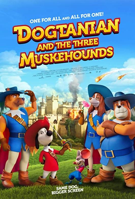 Три мушкетера - D°ArtacГЎn y los tres Mosqueperros
